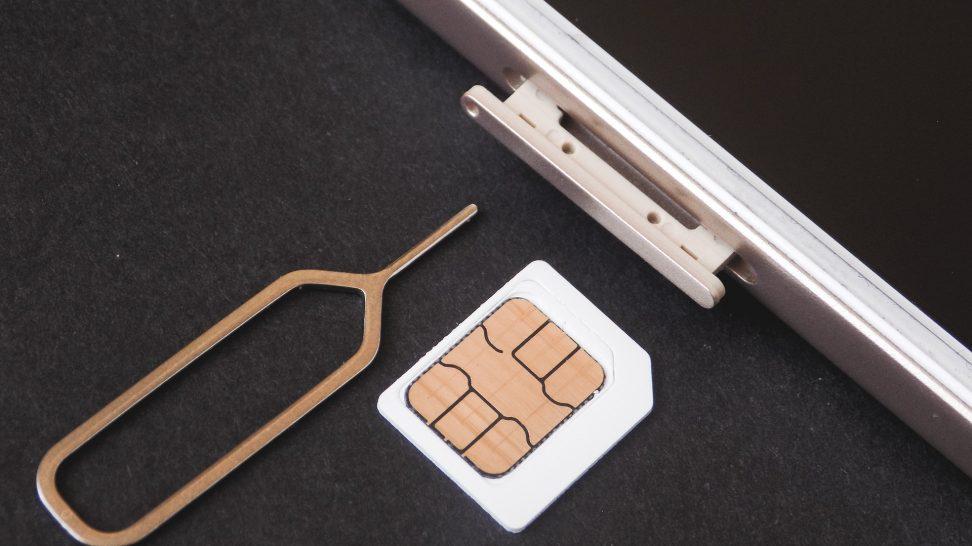 Simkort med mobil